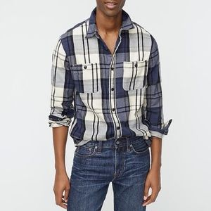 ⭐️HP! NWT Slim midweight flannel work-shirt